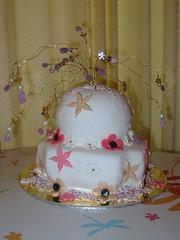 celebration (Micky Straathof) Tags: marzipan sugarpaste noveltyspongecake