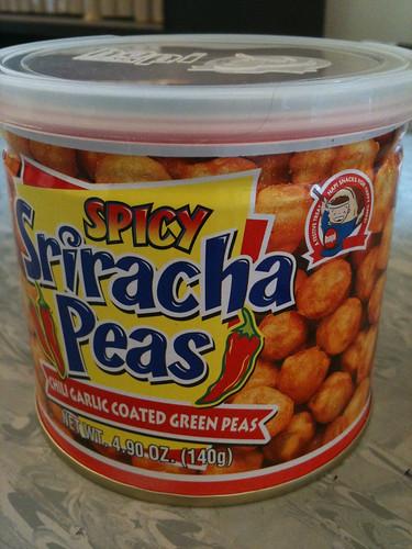 Not wasabi peas