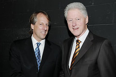 Rod Beckstrom and Bill Clinton