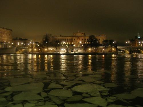 Strömmen by night 5 - Riksdagen