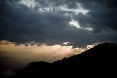 Fantasy in shafa ::Taif:: (Saleh Alnemari) Tags: blue sky cloud sun black tree art canon 350d other photographer air arts explore fantasy 1855 2010 ksa saleh shafa  taif aftrnoon  elites           eliets alnemari salehnemari   2832010