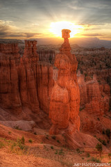 Thors Hammer Sunrise (James Marvin Phelps) Tags: park southwest sunrise photography utah desert national redrock brycecanyon hdr hoodoos mandj98 jmpphotography jamesmarvinphelps thorshammer