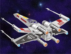 X-Wing (kennetzel) Tags: startrek starwars fighter force r2d2 lukeskywalker deathstar xwingfighter rebelforces