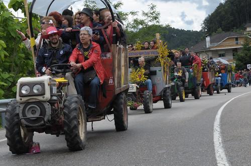 Cans'08. Desfile de chimpibuses (foto: Luis Otero)