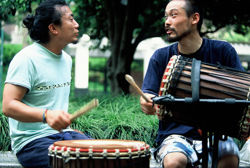 Jammala Drum Circle - Shanghai, China