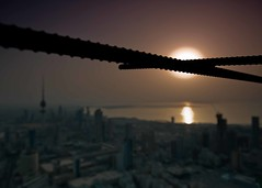 There are sweeter than Kuwait ???? (Ammar Al-Jeraiwi  ) Tags: camera art night landscape nikon iron land lightning kuwait ammar d3 5star 2470mm erath    aljeraiwi