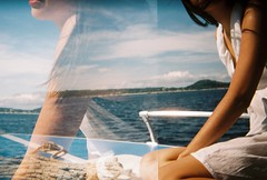Beauty on the Boat (bsb4life) Tags: holga135