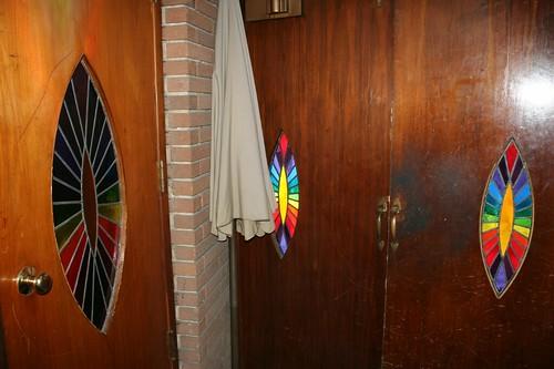 Eyelid window doors, along with eyelid window doors