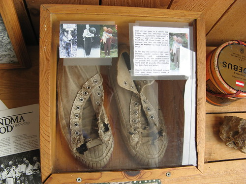 Grandma Gatewood's shoes