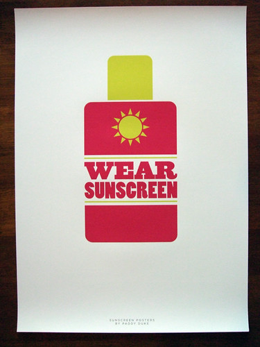 Sunscreen by Paddy Duke