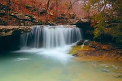 spring cascade (photogg19) Tags: waterfall spring nikon stream arkansas ozark benhur d40 fallingwatercreek richlandcreekwilderness creekriver elitephotography