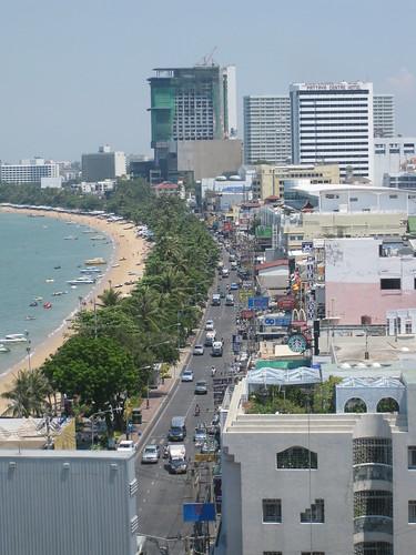 Ciudad de Pattaya en Tailandia