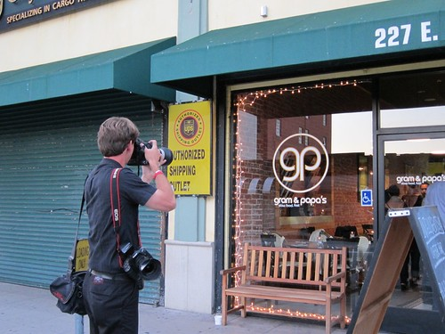 LA Times photographer at Ludobites 4.0
