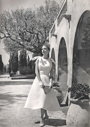 Givenchy Vintage 50s Lofficiel Magazine