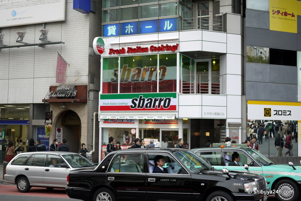 I havent tried the sbarro food yet. Is this from the US or Europe? It says Italian food, but is has a New York look about it.
