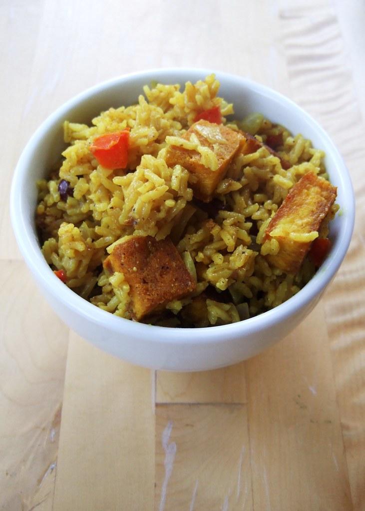 Jamaican cook-up rice