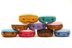 pyramid (callie callie jump jump) Tags: food burlington dessert stuffed rainbow vermont acrylic handmade crochet plush yarn donuts sweets fiber amigurumi