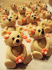 Springtime Bear Cupcake Toppers (completed) (ChoueiriCakeCo.) Tags: birthday bear pink brown white girl cake homemade cupcake vanilla caketopper toppers topper fondant gumpaste sugarpaste cupcaketoppers fondantbow sugarmodelling fondanttoppers