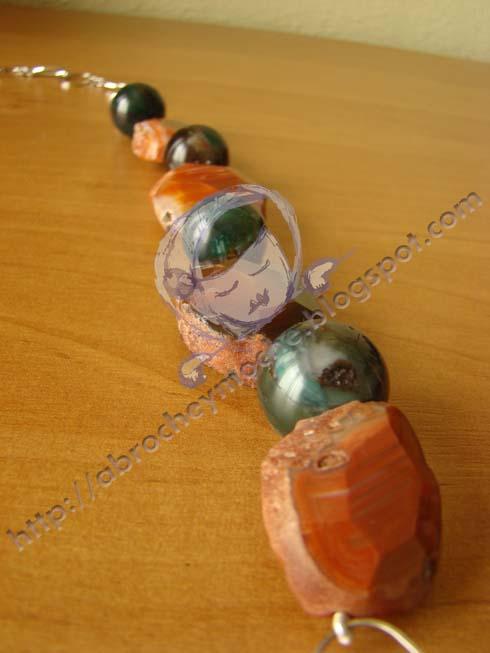 artesania bilbao collar agatas