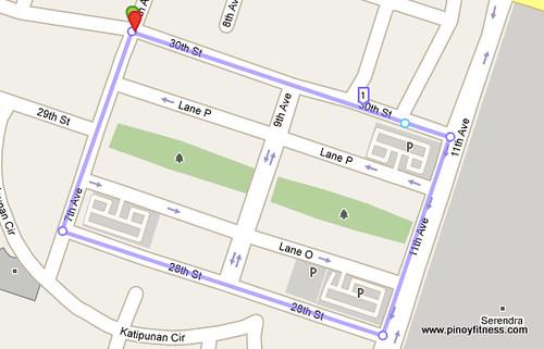 Fort Bonifacio High Street Running