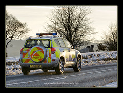 More Police (Paul Simpson Photography) Tags: road uk winter england snow sheep derbyshire peakdistrict police 4wd policecar law emergency lawenforcement 999 bluelights thelaw motorcar lightbar thepeakdistrict allterrainvehicle emergencyvehicle policevehicle thefeds february2010 derbyshireconstabulary derbyshirepolice