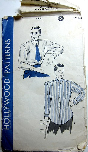 Vintage Hollywood Patterns 486 Men's Shirt