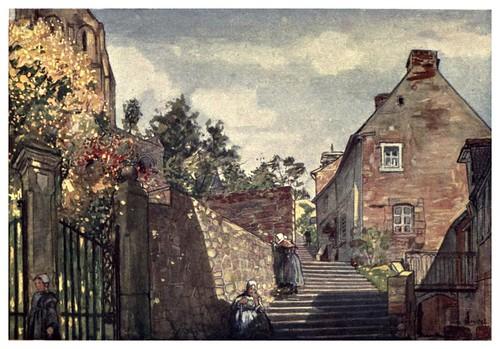 003- Camino de la Abadia del Monte San Michel-Normandy-1905- Ilustrado por Nico Jugman