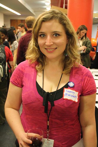 Rebecca Bollwitt, Vancouver social media blogger and local Twestival organizer.