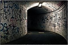 ... IMG_3509 (*melkor*) Tags: city urban art architecture underground geotagged graffiti town experiment tunnel minimal conceptual august2006 melkor trashbit anurbanundergroundpath enjoyoldiesnow
