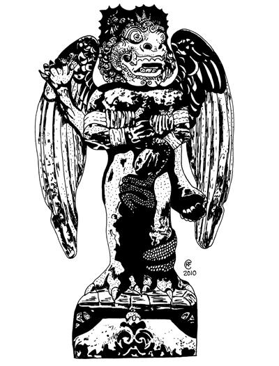 Demon Statue03