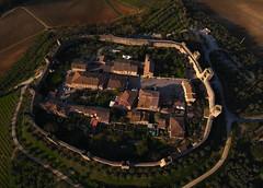 Monteriggioni aerial view III - R178 (opaxir) Tags: italy bap aerial medieval tuscany kap toscana monteriggioni