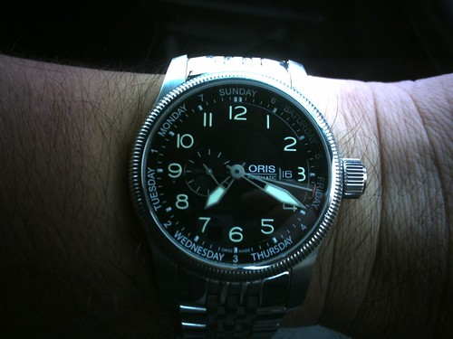 Day 106- 16-4-2010 - One picture a day - ORIS WATCH CLOSE UP!
