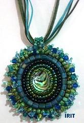 -  (mandala jewelry) Tags: handmade jewelry mandala pendant