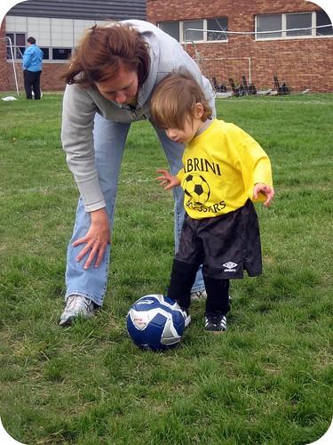 1st soccer practice