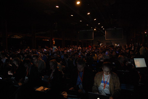 The crowd at the keynote