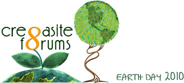 Cre8asite Earth Day