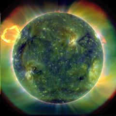 Imagen ultravioleta del Sol por SDO