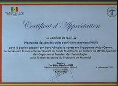 """Certificate of appreciation from President of Senegal (2) • <a style=""""font-size:0.8em;"""" href=""""http://www.flickr.com/photos/40832622@N05/4543225660/"""" target=""""_blank"""">View on Flickr</a>"""