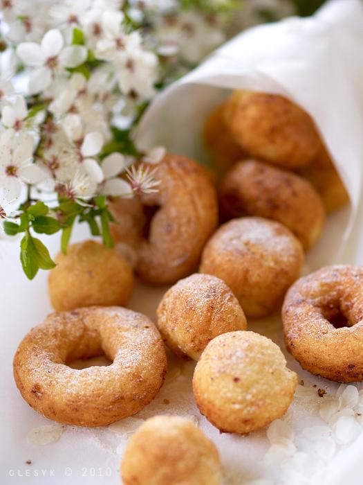 Луковые пончики рецепт