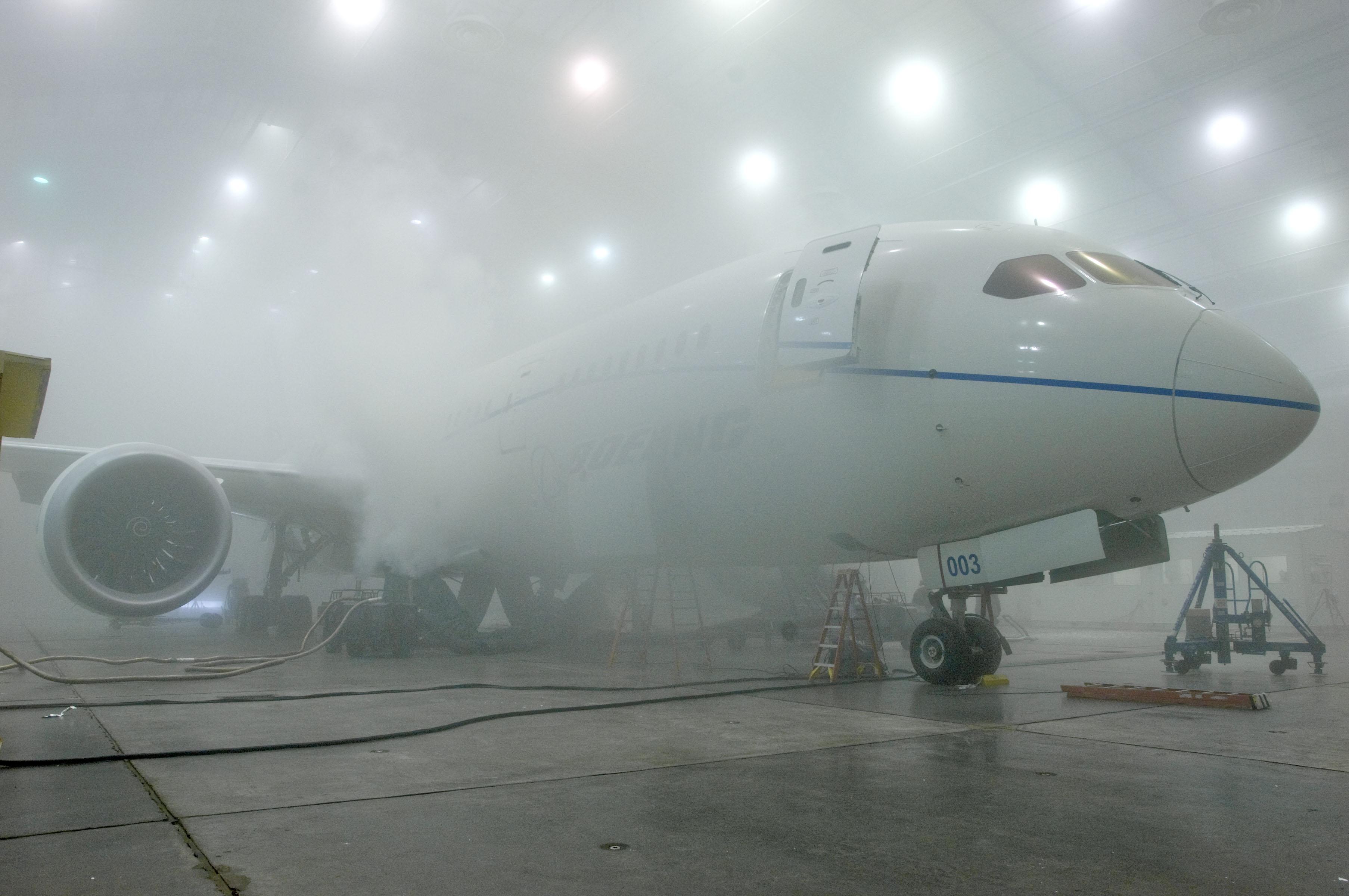 ZA003 787 Sub-ZeroTest in McKinley Climatic Laboratory, Florida
