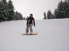 Fresh Powder is Tough to Board Through!! (cozmo54901) Tags: oregon bend snowboard sunriver mtbachelor