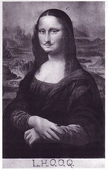 Marcel_Duchamp_Mona_Lisa_LHOOQ, L.H.O.O.Q., karya unik monalisa, louvre museum, leonardo da vinci, renaissance, La Gioconda, La Joconde, Lisa del Giocondo, florence