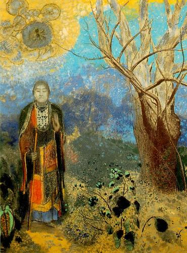 Le Bouddha, c. 1905, Odilon Redon, Pastel on paper, 98 x 73 cm