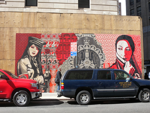 Shepard Fairey at Ace Hotel New York