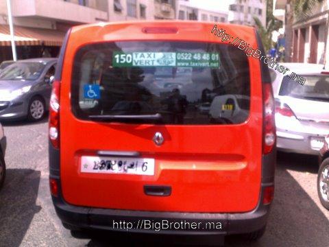 Taxi Casablanca pour handicapés