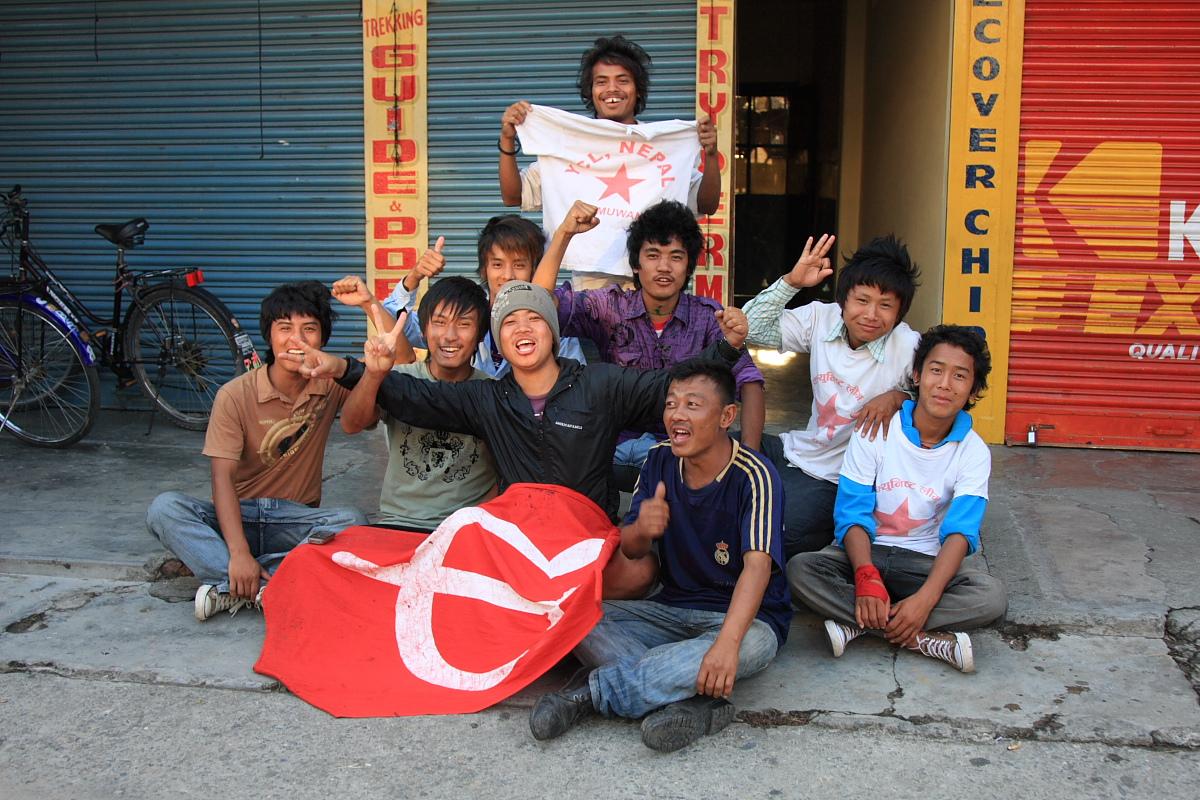 Nepal strajkuje, czyli przedłużony trekking