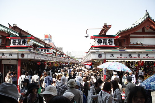 Senso-ji, crowded as usual