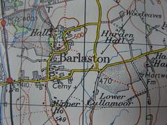 Old Ordnance Survey Map (quimby) Tags: map survey ordnance barlaston