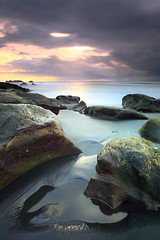 The Light Upon The Sea (tropicaLiving - Jessy Eykendorp) Tags: bali seascape cute beach nature girl canon indonesia landscape island eos reverse purdy 1022mm hitech hoya 50d ndx400