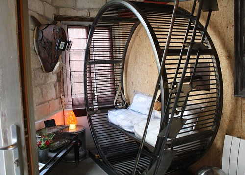 Отель Домик хомячка во Франции